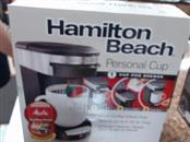 HAMILTON BEACH Coffee Maker 49970